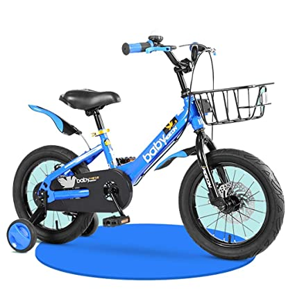 1fa6a7ac529 Amazon.com : Children's Bicycle Blue Boy Bicycles 2-4-6-7-8 Years ...