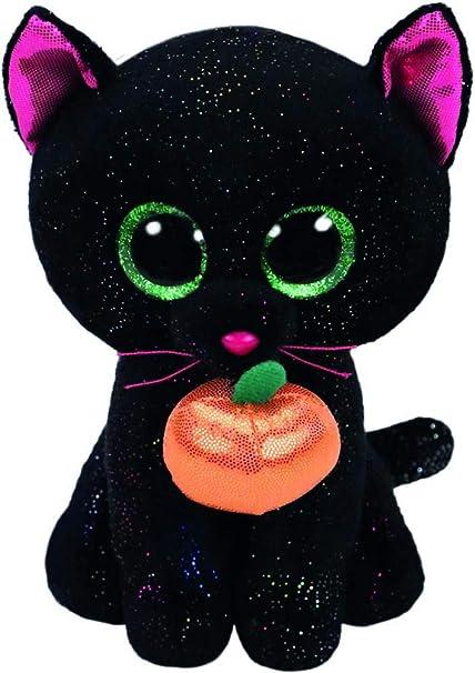 991abe9421e Amazon.com  Ty Beanie Boos - Potion Black Cat  Toys   Games