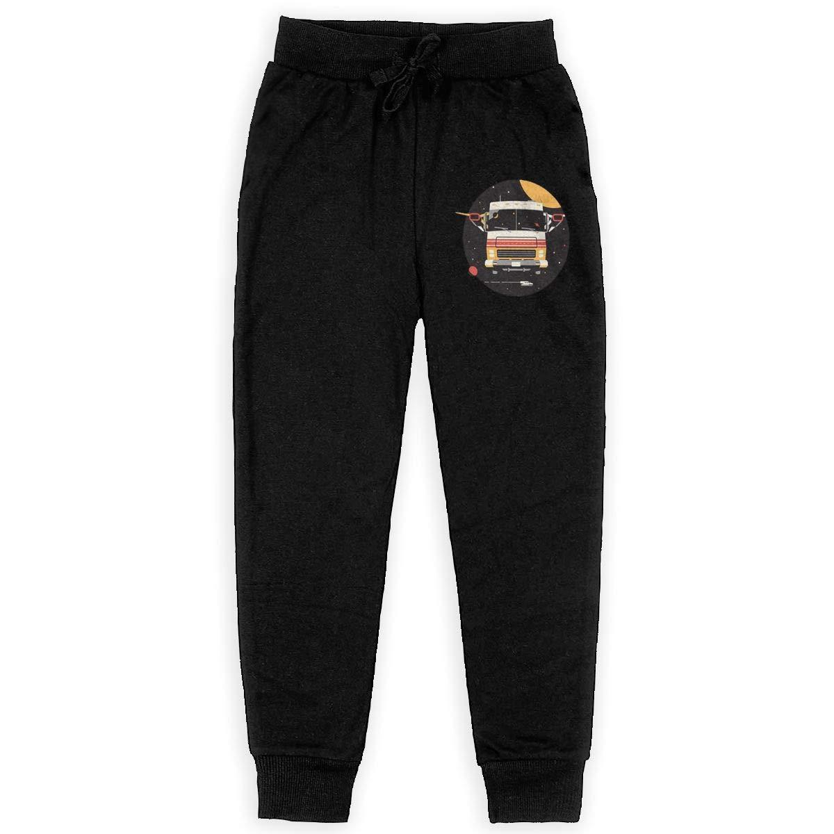 Kim Mittelstaedt Spaceballs Space Craft Spaceship Boys Big Active Basic Casual Pants Sweatpants for Boys Black