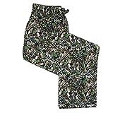 Hanes Men's Cotton ComfortSoft Printed Knit Pants, XLarge, Hunter