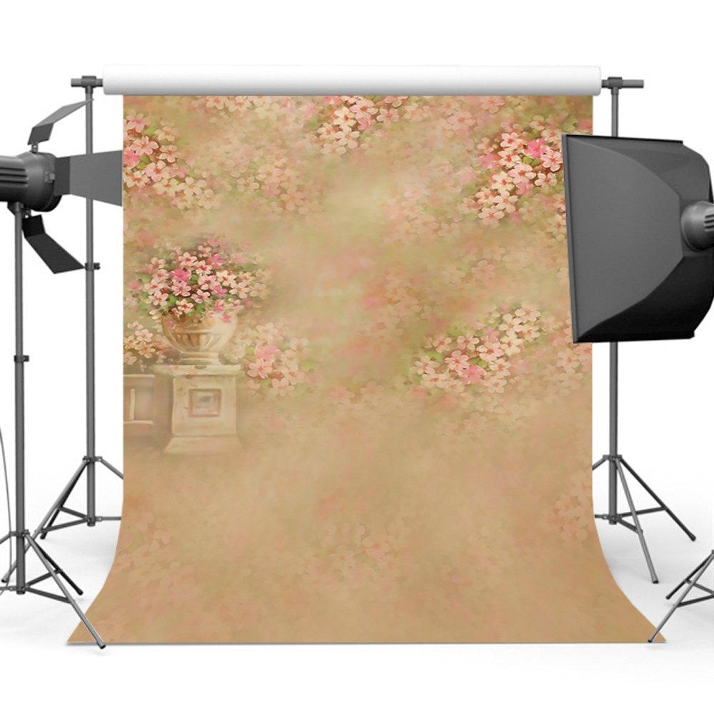 Mehofoto fondo de fotograf/ía de pared de ladrillo 7x5ft flor de la pared banquete de boda decoraci/ón tel/ón de fondo transparente foto Studio Prop