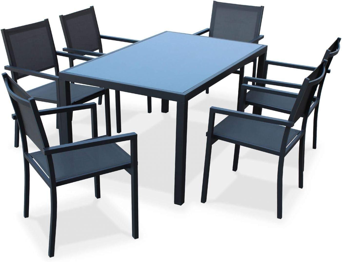 amazon mesa y sillas capua