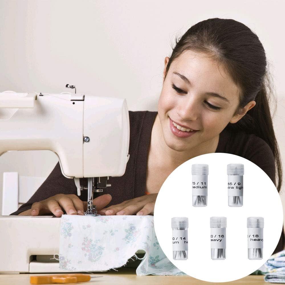 MIZOMOR - Agujas para máquina de Coser (100 Unidades, tamaño 9, 11 ...