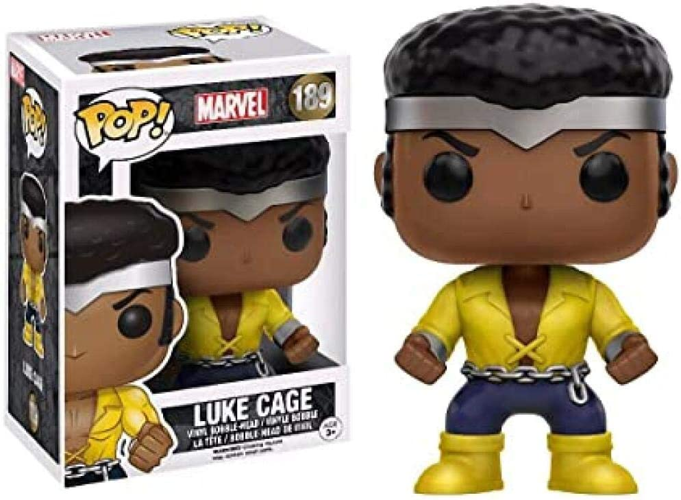 MARVEL Figure Boxed Luke Cage