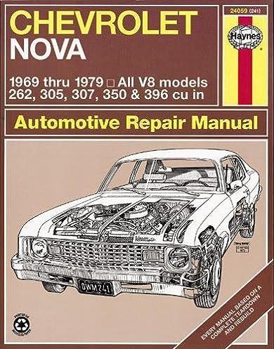 chevrolet nova 1969 79 haynes repair manuals haynes rh amazon com 02 Mazda Protege5 Repair Manuals Parts Manual