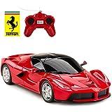 Rastar 1:24 Scale RC Car, Ferrari LaFerrari Remote Control Car, Model Toy Car for Kids, Red
