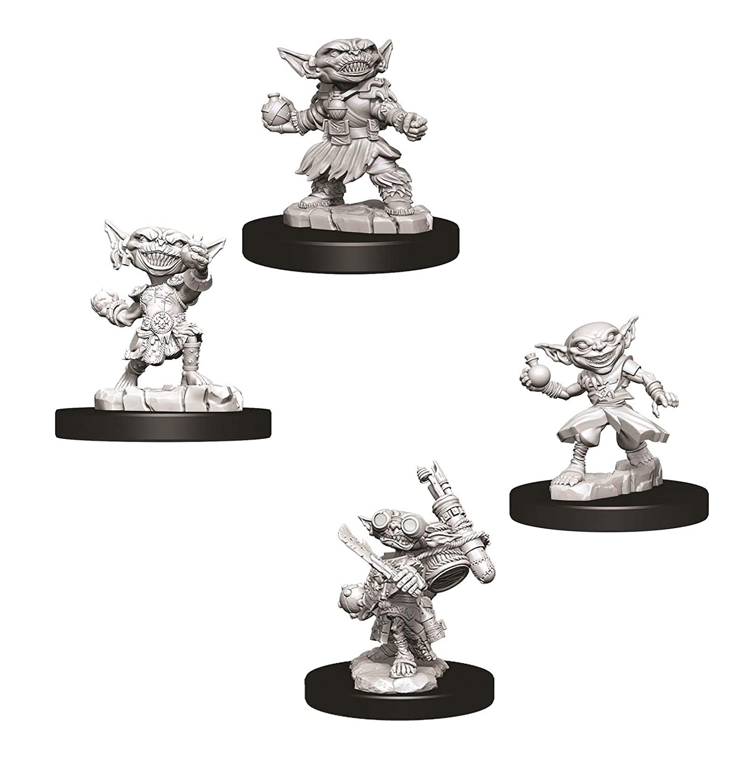 Pathfinder Battles Deep Cuts Miniatures Bundle: Alquimista Goblin ...