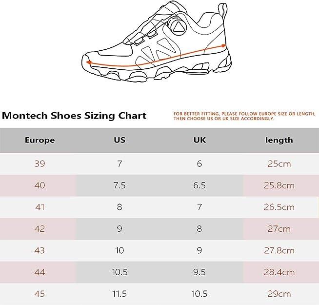 Zapatillas de Running para Hombre con Sistema de Cordones de Cierre Boa (42 EU, Gris): Amazon.es: Zapatos y complementos