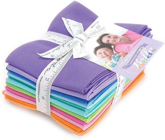 Moda Fat Quarter Bundle Zen Chic 9900ABZC 12 pieces Designer Select Bella Bundle