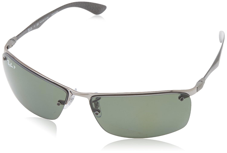 Ray-Ban Mod. 8315 Polarized (63 mm) Gafas de Sol, Grau (004 ...