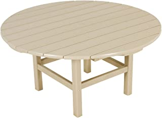 "product image for POLYWOOD RCT38SA Round 38"" Conversation Table, Sand"