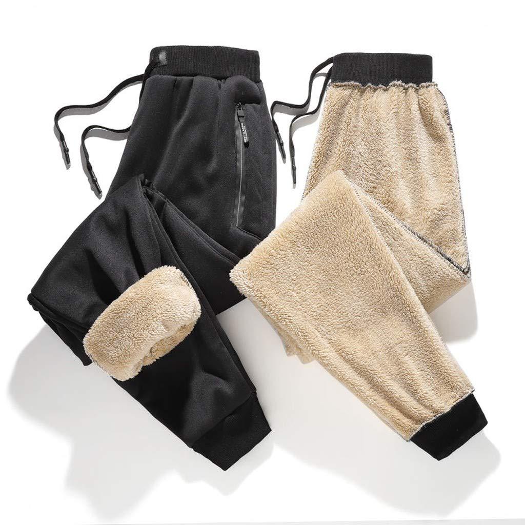 Pantalones de Ch/ándal Sueltos Cord/ón del Deporte de los Hombres de la Moda Pantalones de Jogging Fitness Leggings El/ástica Gimnasio Deportes Pantalones