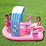 Intex Hello Kitty Inflatable Play Center 83'' X 64'' X 47.5'' or 2.11m X 1.63m X 1.30m for Kids Ages 2+