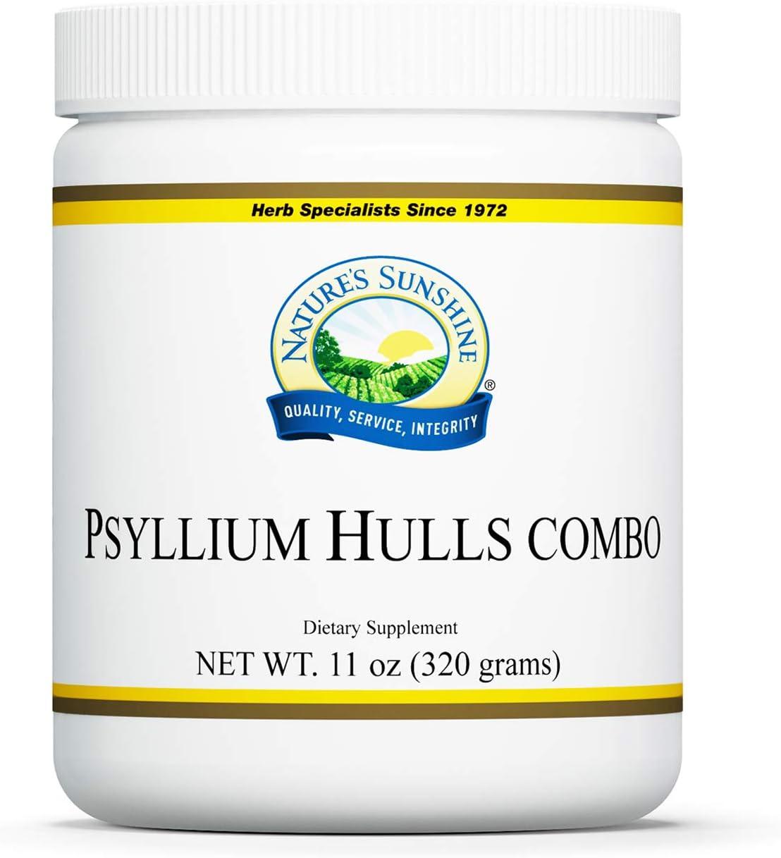 Nature's Sunshine Psyllium Hulls Combination 11 Oz