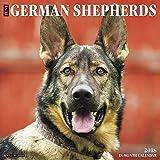Just German Shepherds 2018 Wall Calendar (Dog Breed Calendar)