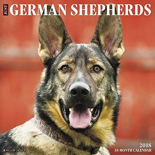 Just German Shepherds 2018 Calendar