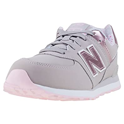 on sale 2bb18 bf286 New Balance 574 High Visibility, Baskets Basses Mixte Enfant