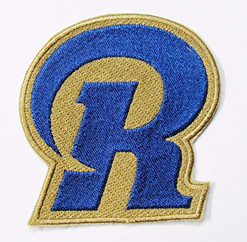 (NFL ST. Louis RAMS Embroidered Logo Patch (Big R) 3 1/2