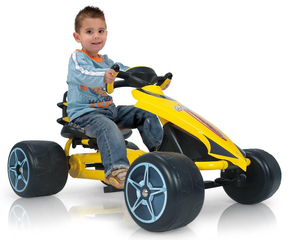 INJUSA Go-Kart - Flecha a pedales para niños de 2 años con sillín ...
