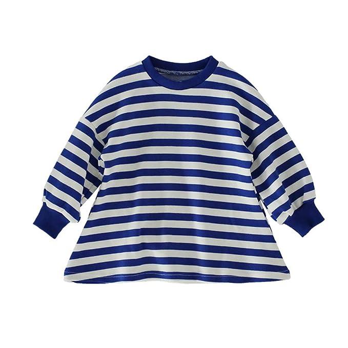 af291043a Fairy Baby Jersey para Niñas Falda de Rayas Azul y Blanco  Amazon.es  Ropa  y accesorios