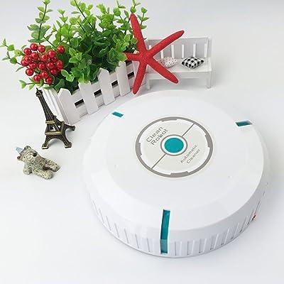 Aspirateur Robot, Woopower Creative automatique intelligente Mini Balai avec Utilisation manuelle pour animal domestique et allergiques pour sols durs, l'utilisation à domicile