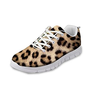 6ce2fd3bbbb3 Amazon.com | Colorful Animal Shoes for Tennis, Women's Cross Trainer  Running Shoe Fashion Sneakers Mesh Breathable Walking Shoes | Road Running