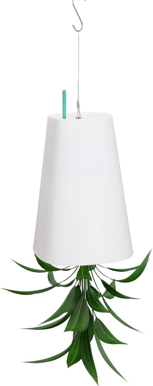 Blanco Ulikey Sky Planter Macetas para Flores al Rev/és Maceta Colgante de Cielo de Pl/ástico Planta Decoraci/ón de Interiore de Jard/ín Balc/óny Paredes