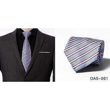 WOXHY Corbata De Hombre De Color Sólido 8 Cm Corbata Hombre De ...