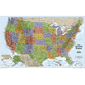 United States Explorer [Laminated] (National Geographic Reference Map)