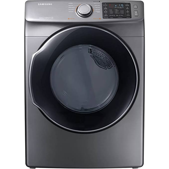 Samsung DVG45M5500P 7.5 Cu. Ft. Platinum Gas Dryer DVG45M5500P/A3 best gas dryers