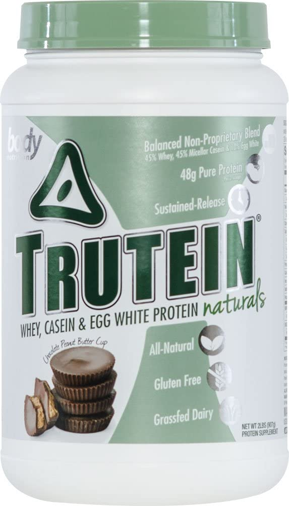 Body Nutrition Trutein Naturals Chocolate Peanut Butter Cup Protein Blend 2 LB
