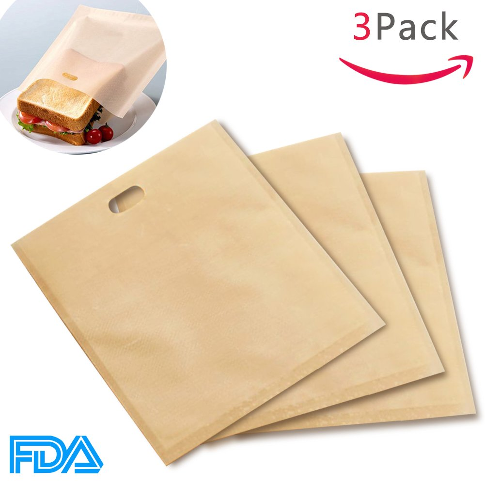 Bolsas de tostadora reutilizables bolsas de sándwich ...