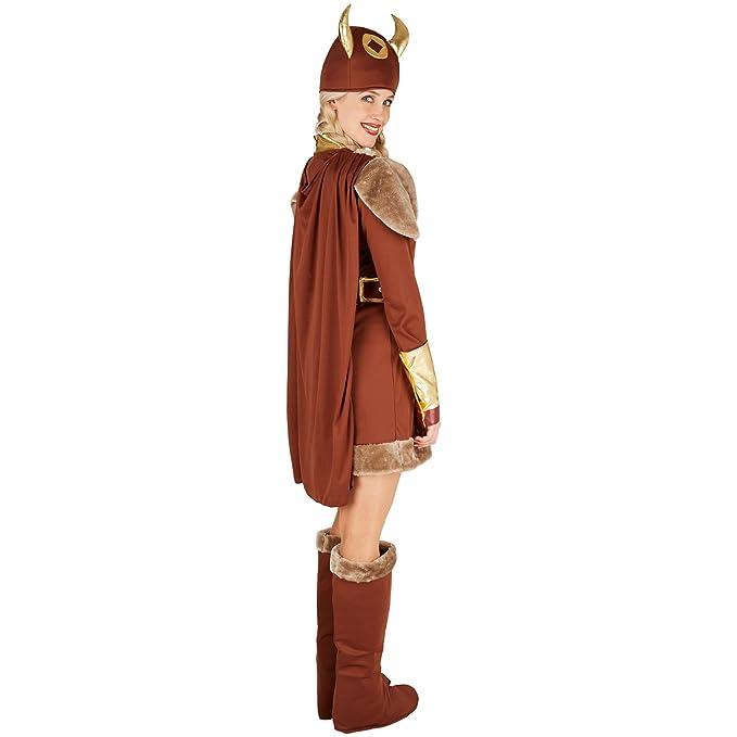 TecTake dressforfun Disfraz para Mujer Vikinga | Precioso ...