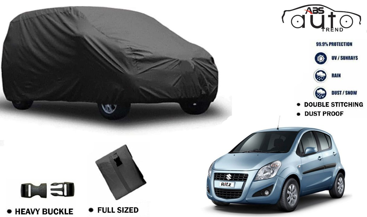 6eeb19529fe ABS AUTO TREND Fabric MARUTI SUZUKI RITZ Car cover (Grey, XXL ...