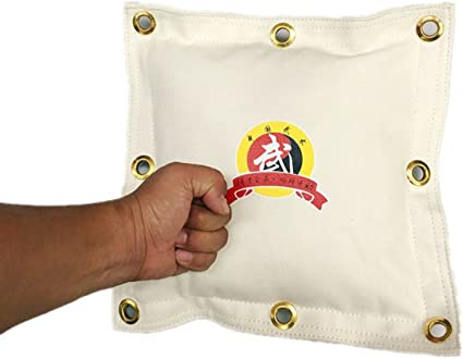 Kung Fu Wing Chun Bag Wall Canvas Punch Sand Bag Kick Training Striking Tool