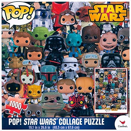 Star Wars Pop Collage Puzzle (1000 Piece)