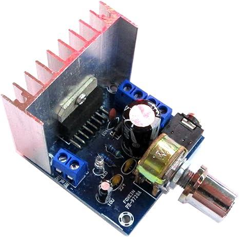 perfk TDA7297 15W Versión A Tablero Amplificador De Audio Digital ...
