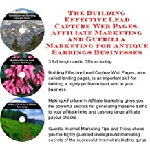The Guerilla Marketing, Building Effective Lead Capture Web Pages, Affiliate Marketing for Antique Earrings Businesses