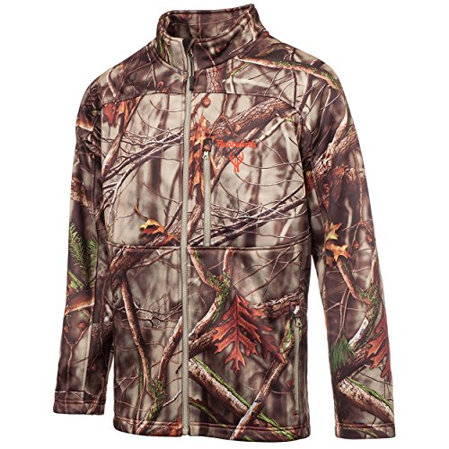 Huntworth Men's Scent Reducing Soft Shell Jacket, Oak Tree EVO ,Large - Evo Soft Shell Jacket