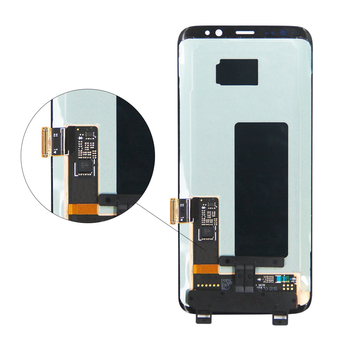 HJSDtech LCD Display Screen Touch Screen Digitizer Assembly Replacement for Samsung Galaxy S8 by HJSDtech (Image #3)