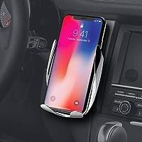 Liv Smart Sensor Cargador inalámbrico para Coche – Soporte inalámbrico de Auto de sujeción de Coche, Soporte de ventilación de teléfono para Apple, Android Smartphones