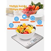 FiveFine Digital Food Kitchen Stainless Steel Scale