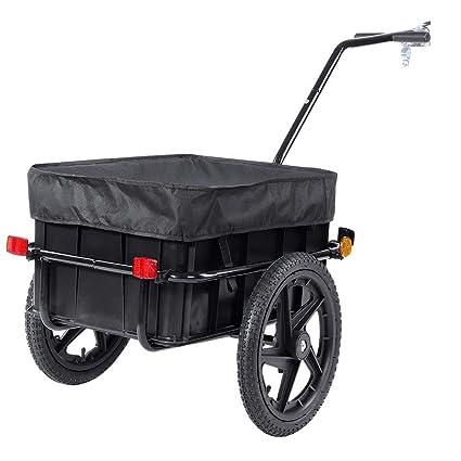 Amazon.com: Cocoarm Carro de carga para bicicleta, remolque ...