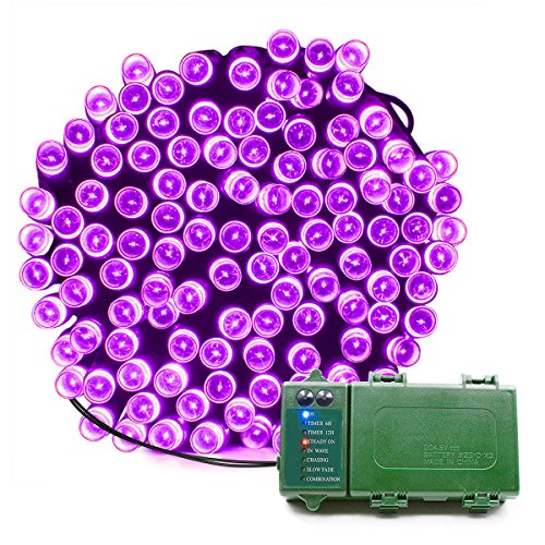 Purple Led Holiday Lights in US - 1