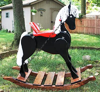 ROCKING HORSE Paper Plans SO EASY BEGINNERS LOOK LIKE EXPERTS Build Your Own CHILDS ROCKER Using This Step By Step DIY Patterns by WoodPatternExpert by WoodPatternExpert