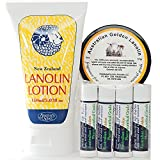 Arctic Blast Lanolin Set for Lips, Hands and Body - Three Australian and New Zealand Products