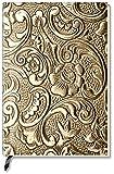 Alpha Edition Carnet de notes vierge Fleur métallique (Import Allemagne)