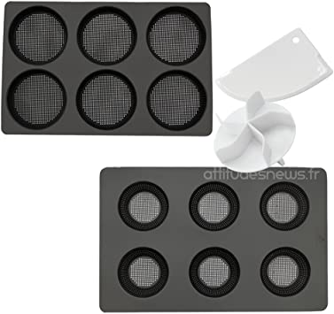 Daudignac – Moldes para hacer panecillos redondos con accesorios Panificadora: Amazon.es: Hogar