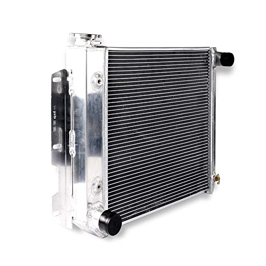 FOR Jeep Wrangler TJ YJ 4 Core//Row Aluminum Radiator//V8 Conversion 87-95 97-02