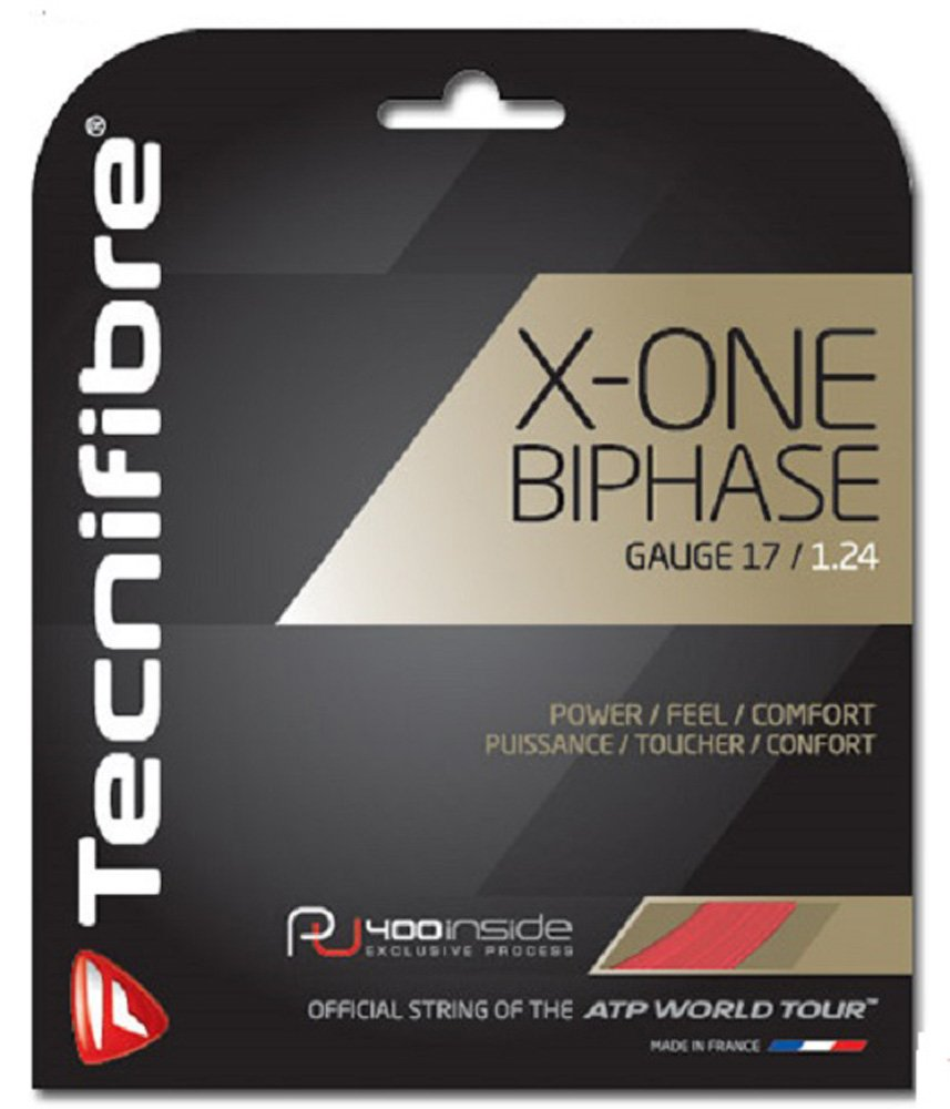 Tecnifibre Color Red X One Biphase 1.24